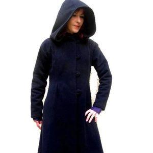 Vintage ILGWU Union Made Long Wool Coat